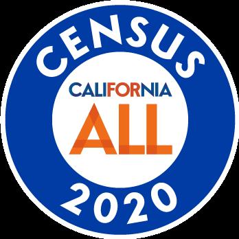 California For All Census 2020 Logo